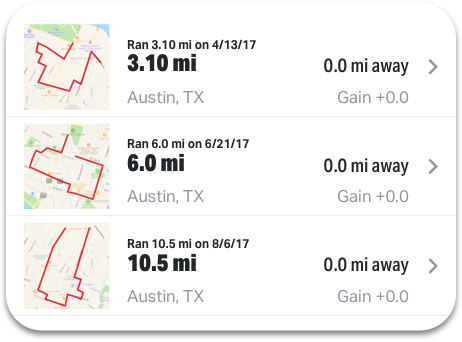 Apps | MapMyWalk Running Mileage Map on